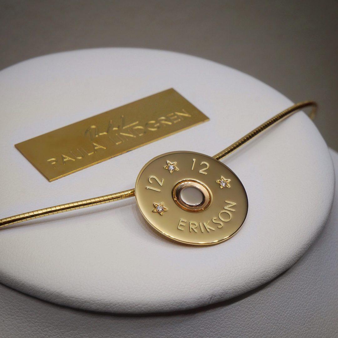 HELENE'S 12GA 18K DIAMOND SHOTGUN SHELL