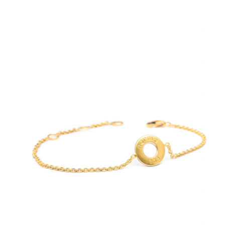 The petite gold bracelet, hunting jewelry by Paula Lindgren Hunting Jewelry